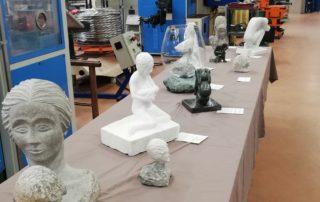 sculture artisti fabbriche aperte 2019