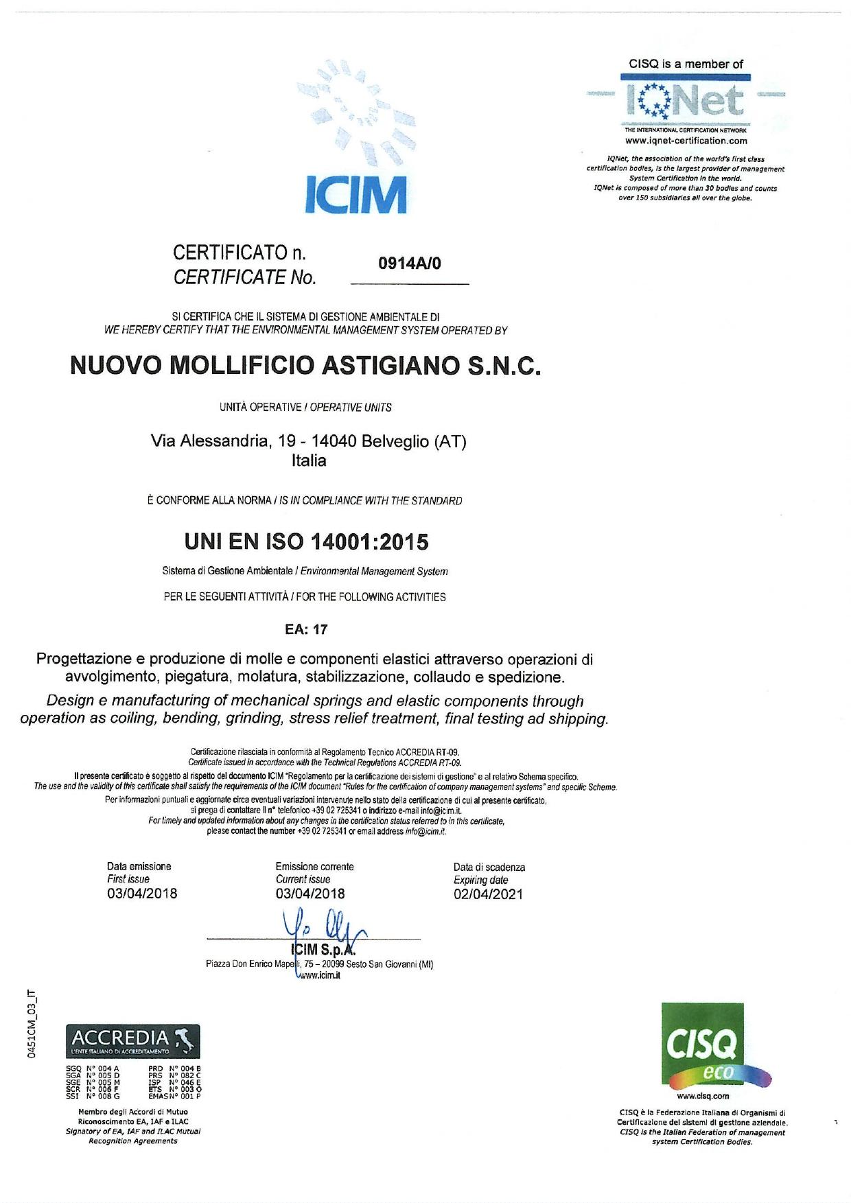 certificato-iqnet-14001-2015-ambiente-mollificio-astigiano-belveglio-asti