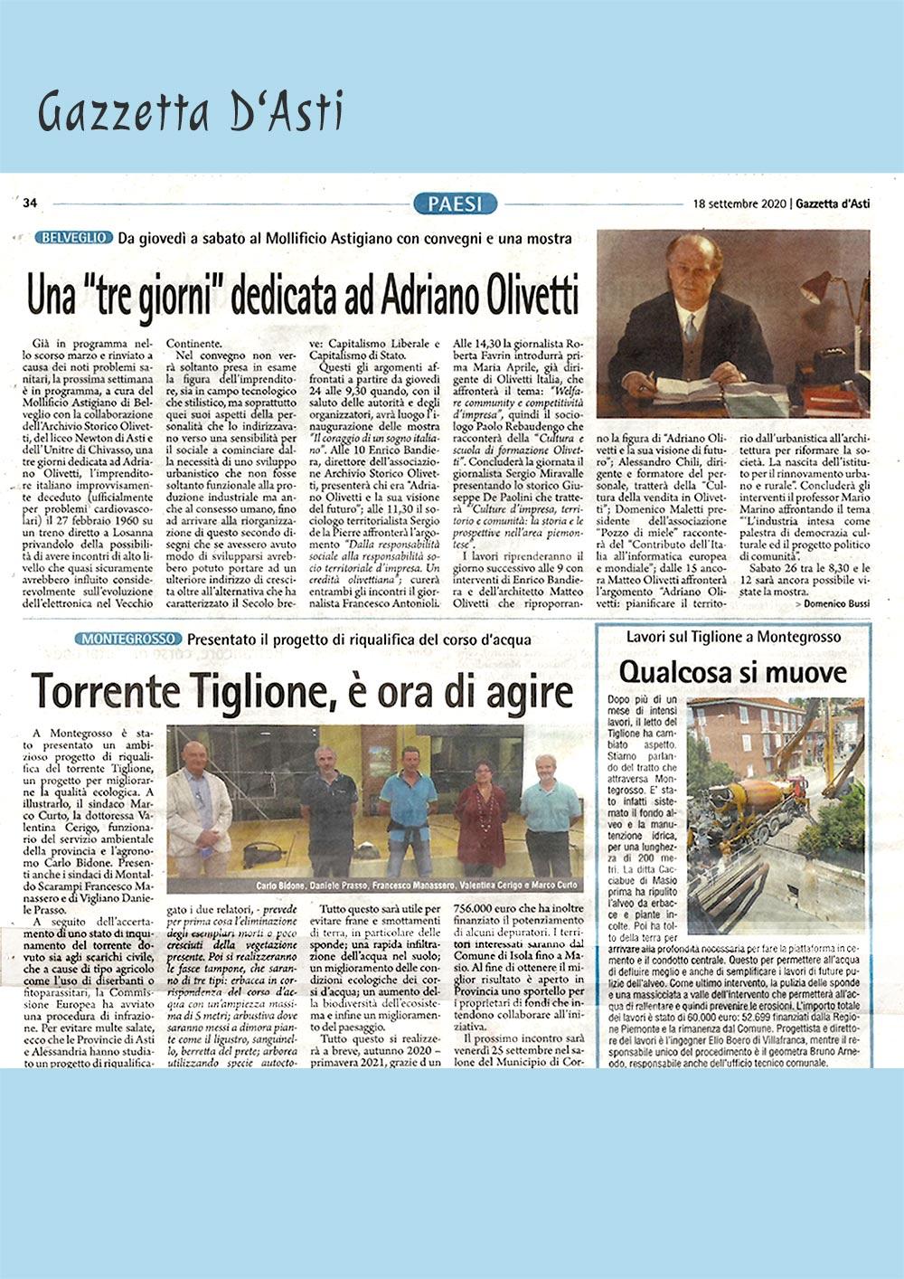 tre-giorni-Olivetti-Mollificio-Astigiano-Gazzetta-d'Asti