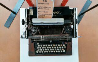 m20-macchine scrivere olivetti-mostra-mollificio-astigiano